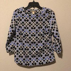 Banana Republic Tops - Banana republic geometric blouse